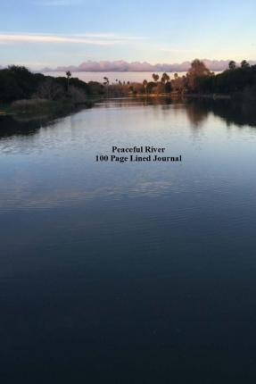 Peaceful River 100 Page Lined Journal