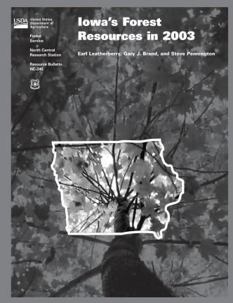 Iowa's Forest Resources in 2003