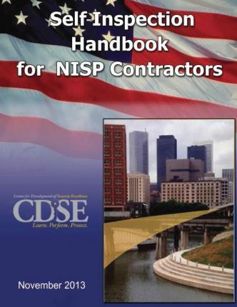 Self-Inspection Handbook for Nisp Contractors