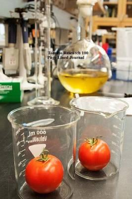 Tomato Research 100 Page Lined Journal