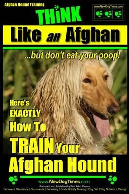 Afghan Hound Training Think Like an Afghan But Don't Eat Your Poop!