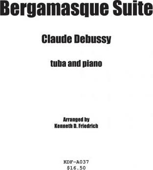 Bergamasque Suite - Tuba and Piano