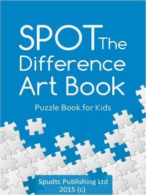 Spot the Difference Art Book