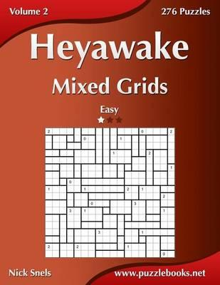 Heyawake Mixed Grids - Easy - Volume 2 - 276 Logic Puzzles