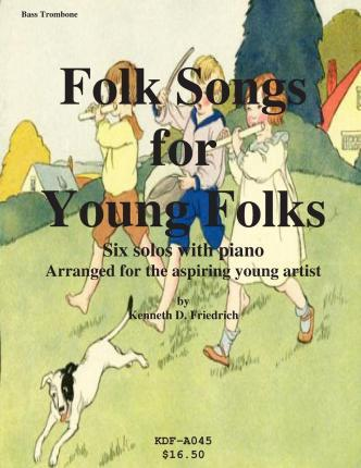 Folk Songs for Young Folks - Bass Trombone and Piano