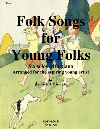 Folk Songs for Young Folks - Tuba and Piano