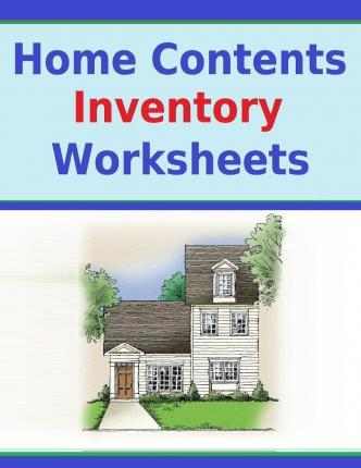 Home Contents Inventory Worksheets