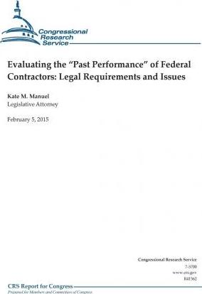Evaluating the Past Performance of Federal Contractors