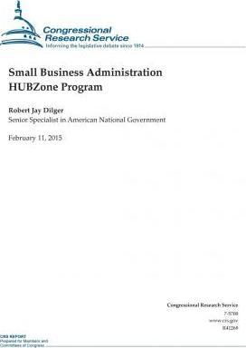 Small Business Administration Hubzone Program
