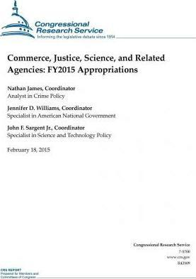 Commerce, Justice, Science, and Related Agencies