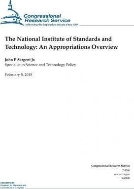 The National Institute of Standards and Technology
