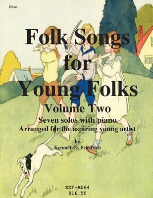 Folk Songs for Young Folks, Vol. 2 - Oboe and Piano