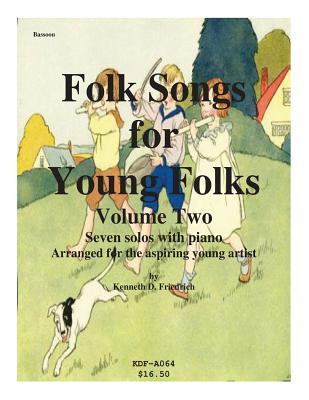 Folk Songs for Young Folks, Vol. 2 - Bassoon and Piano