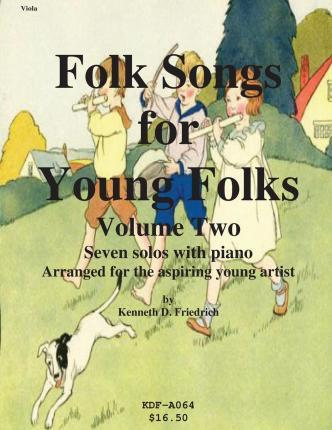 Folk Songs for Young Folks, Vol. 2 - Viola and Piano