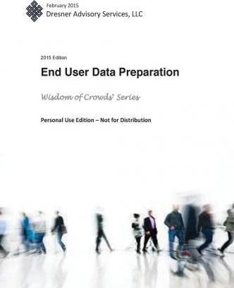 2015 End User Data Preparation Market Study Report