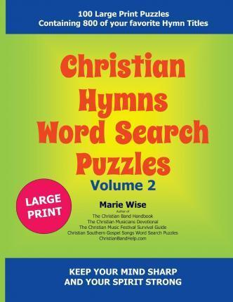 Christian Hymns Word Search Puzzles Volume 2