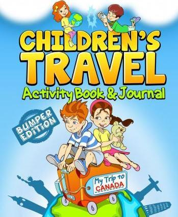 Children's Travel Activity Book & Journal