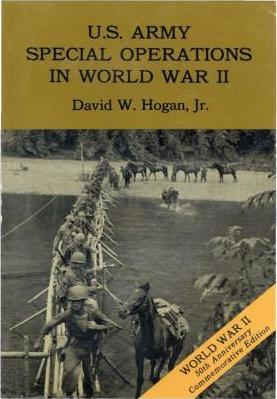U.S. Army Special Operations in World War II