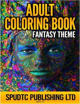 Adult Coloring Book: Fantasy Theme