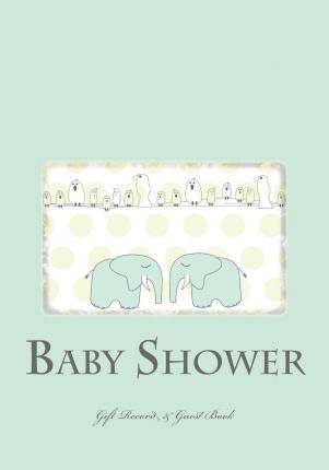 Baby Shower Gift Record & Guest Book