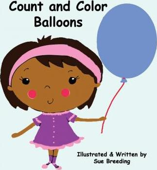 Count and Color Balloons