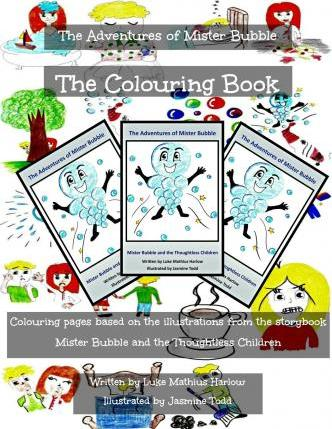 The Adventures of Mister Bubble - The Colouring Book