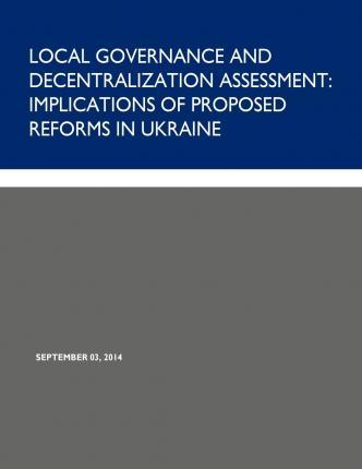 Local Governance and Decentralization Assessment