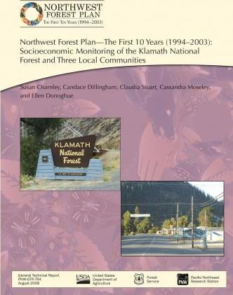 Northwest Forest Plan-The First 10 Years (1994-2003)