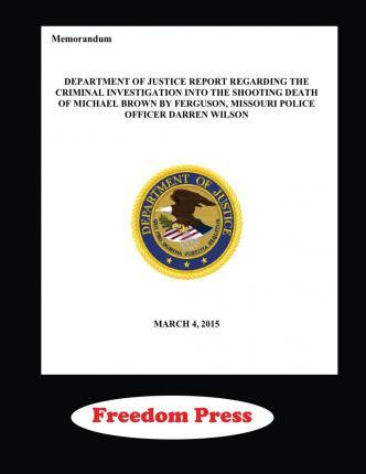 Doj Investigation of the Shooting of Michael Brown