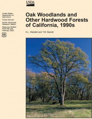 Oak Woodlands and Other Hardwood Forest of California, 1990s