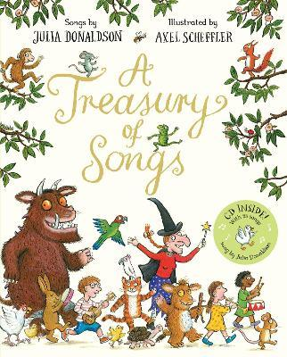 A Treasury of Songs Cover Image