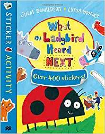 What the Ladybird Heard Next Sticker Book