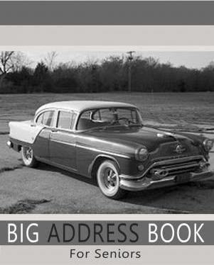 big address book for seniors blank books n journals 9781511589260