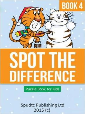Spot the Difference Book 4 : Puzzle Book for Kids