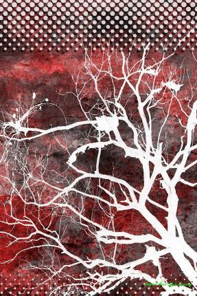 Journal Your Life's Journey: Spooky Dead Trees, Lined Journal, 6 X 9, 100 Pages