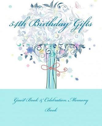 54th Birthday Gifts