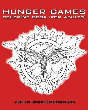 Hunger Games Coloring Book For Adults Razzberry Books 9781512223477