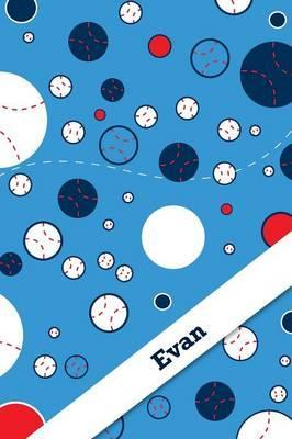 Etchbooks Evan, Baseball, Graph, 6 X 9, 100 Pages