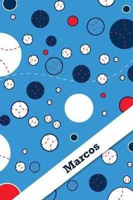 Etchbooks Marcos, Baseball, Graph, 6 X 9, 100 Pages