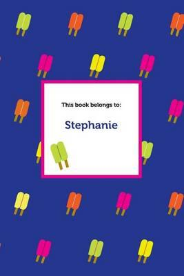 Etchbooks Stephanie, Popsicle, Wide Rule