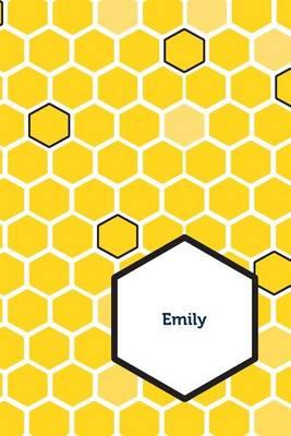 Etchbooks Emily, Honeycomb, Wide Rule, 6 X 9', 100 Pages