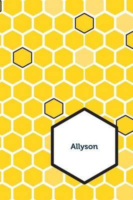 Etchbooks Allyson, Honeycomb, Wide Rule