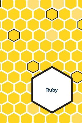 Etchbooks Ruby, Honeycomb, Wide Rule