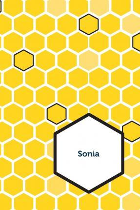 Etchbooks Sonia, Honeycomb, Wide Rule