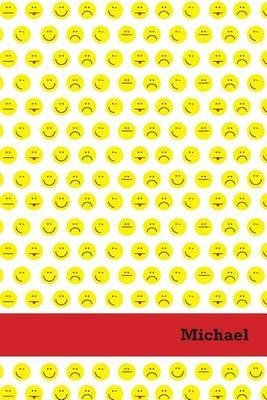 Etchbooks Michael, Emoji, Wide Rule, 6 X 9', 100 Pages