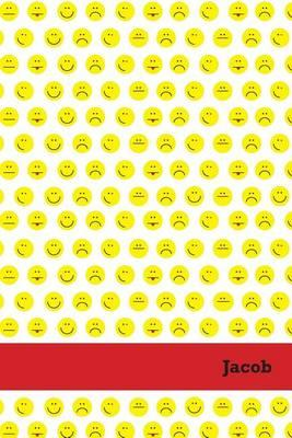 Etchbooks Jacob, Emoji, Wide Rule, 6 X 9', 100 Pages