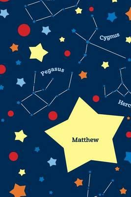 Etchbooks Matthew, Constellation, Wide Rule, 6 X 9', 100 Pages