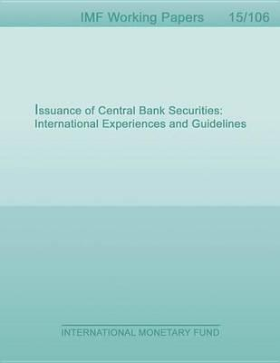 Issuance of Central Bank Securities