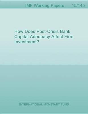 How Does Post-Crisis Bank Capital Adequacy Affect Firm Investment?