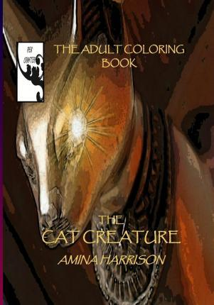 The Cat Creature-The Adult Coloring Book